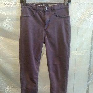 H&M Purple Jeans